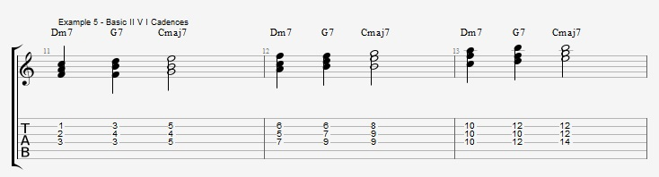 Rootless Voicings - Part 1 - Triads - ex 5