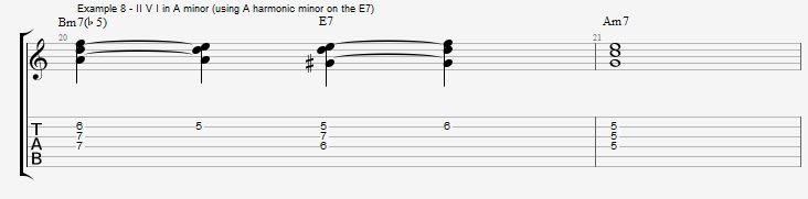 Rootless Voicings - Part 1 - Triads - ex 8