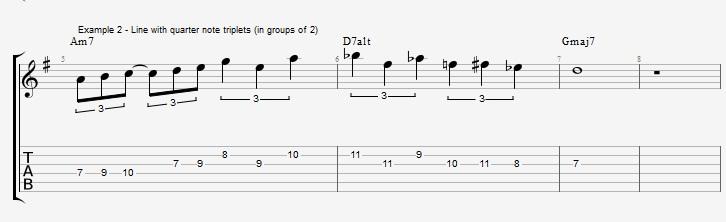 Triplet rhythms - Part 2 - ex 2