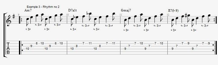 Triplet rhythms - Part 2 - ex 3