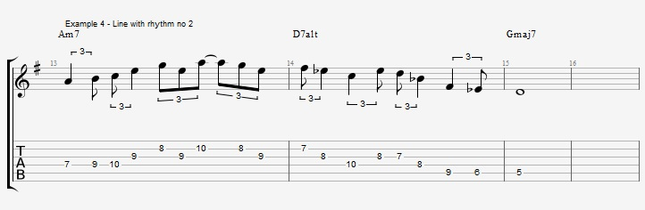 Triplet rhythms - Part 2 - ex 4