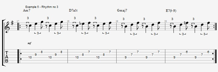 Triplet rhythms - Part 2 - ex 5
