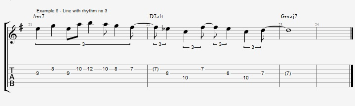 Triplet rhythms - Part 2 - ex 6