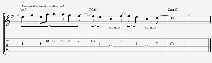 Triplet rhythms - Part 2 - ex 6