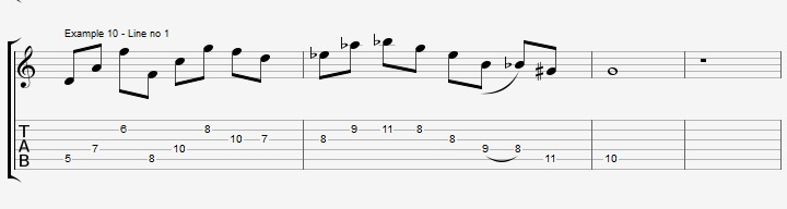 Do you really know the pentatonic scale ex 10