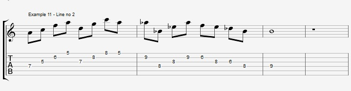 Do you really know the pentatonic scale ex 11