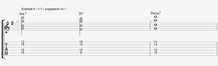 Drop2&4 voicings - Part 1 - ex 6