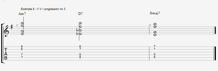 Drop2&4 voicings - Part 1 - ex 8