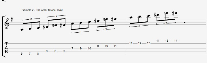 The Wrong Tritone Scale - ex 2