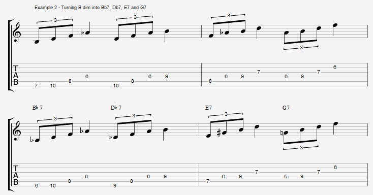4 Dominants on one Chord! - You\'ll never need another arpeggio ...