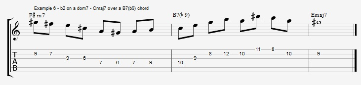 Are You Using Your Maj7 Arpeggios On These Chords Jens Larsen
