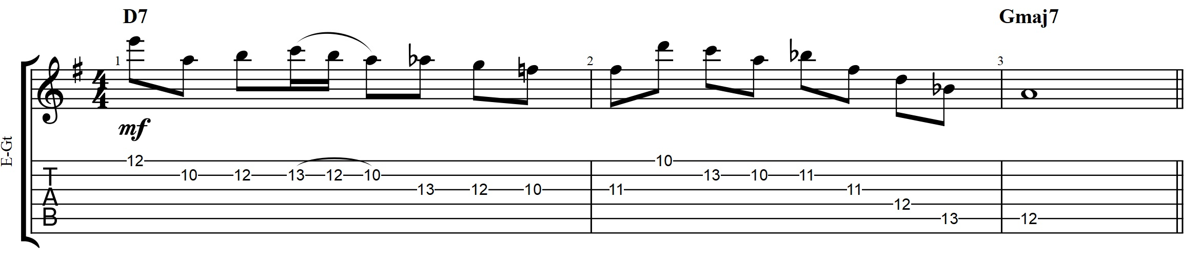 Chord archives jens larsen to practice playing the 16th note trills with legato you can take this exercise through a position of 3 notes per string major scale hexwebz Gallery