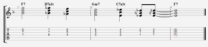 Quartal Harmony on a Jazz Blues - Jens Larsen