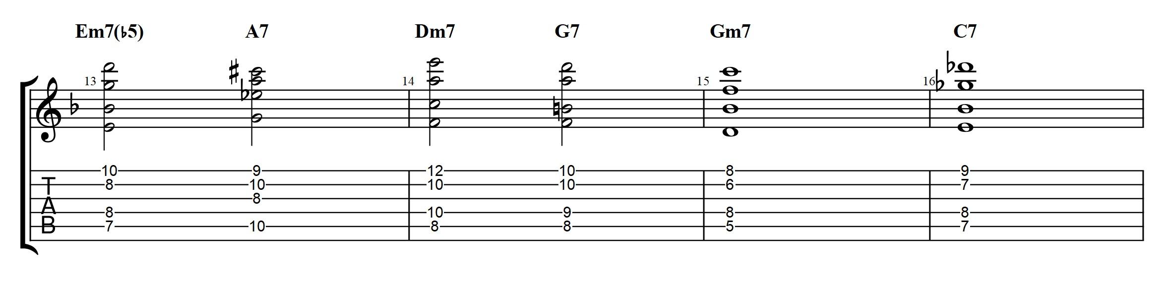 Allan Holdsworth Chords On A Jazz Standard Advanced Modern Chord