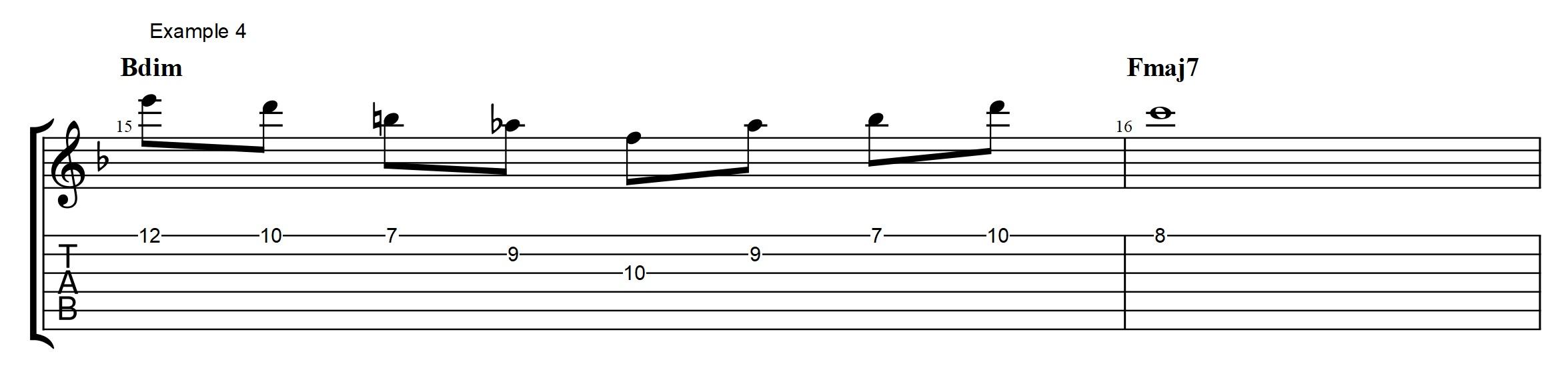 Diminished Chord Harmony Archives Jens Larsen