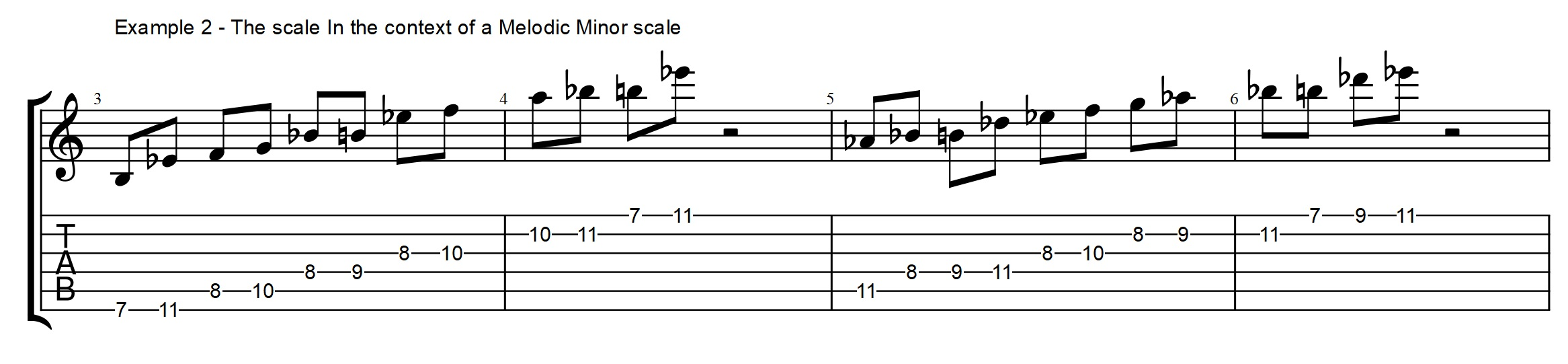 Pentatonic scale for altered chords modern melodic minor secrets this tells us that it is a part of the ab melodic minor g altered scale and we can also see that it is a good fit for the g7 with an hexwebz Choice Image