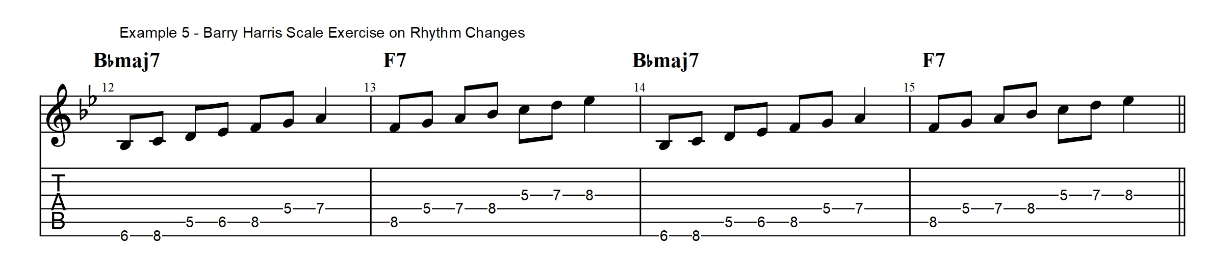 3 types of Rhythm Changes licks you NEED to know - Bebop