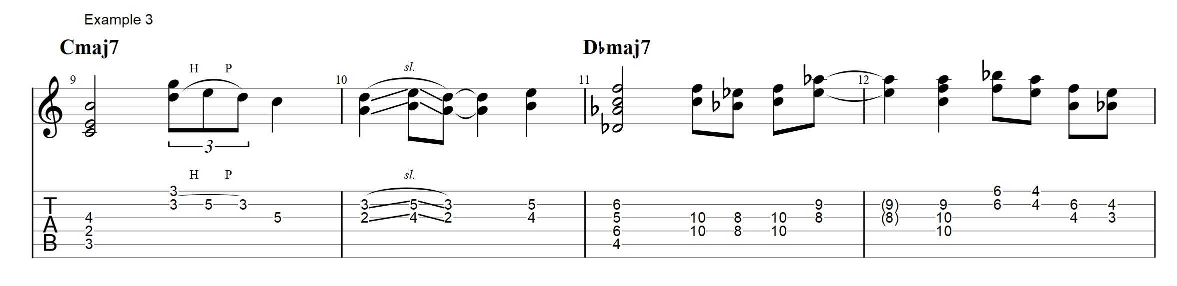 Jazz chords archives jens larsen the fills do convey the sound of the chord but does not yield a complete chord sound all the time buycottarizona Image collections