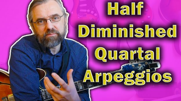 Half Diminished Chords This Is How To Use Quartal Arpeggios Jens