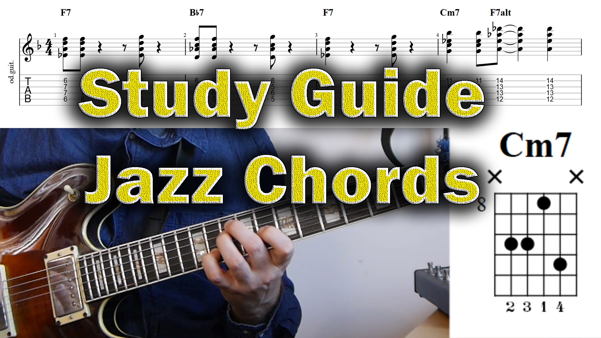 How To Learn To Play Jazz Chords Study Guide Jens Larsen