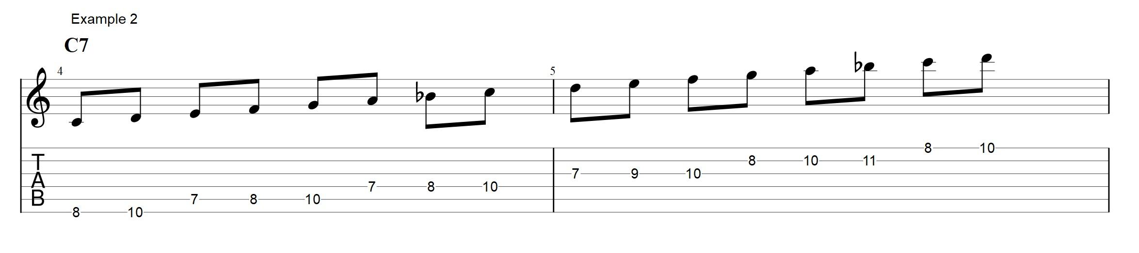 5 Easy Ways To Sound Like Bebop On A C7 Jens Larsen