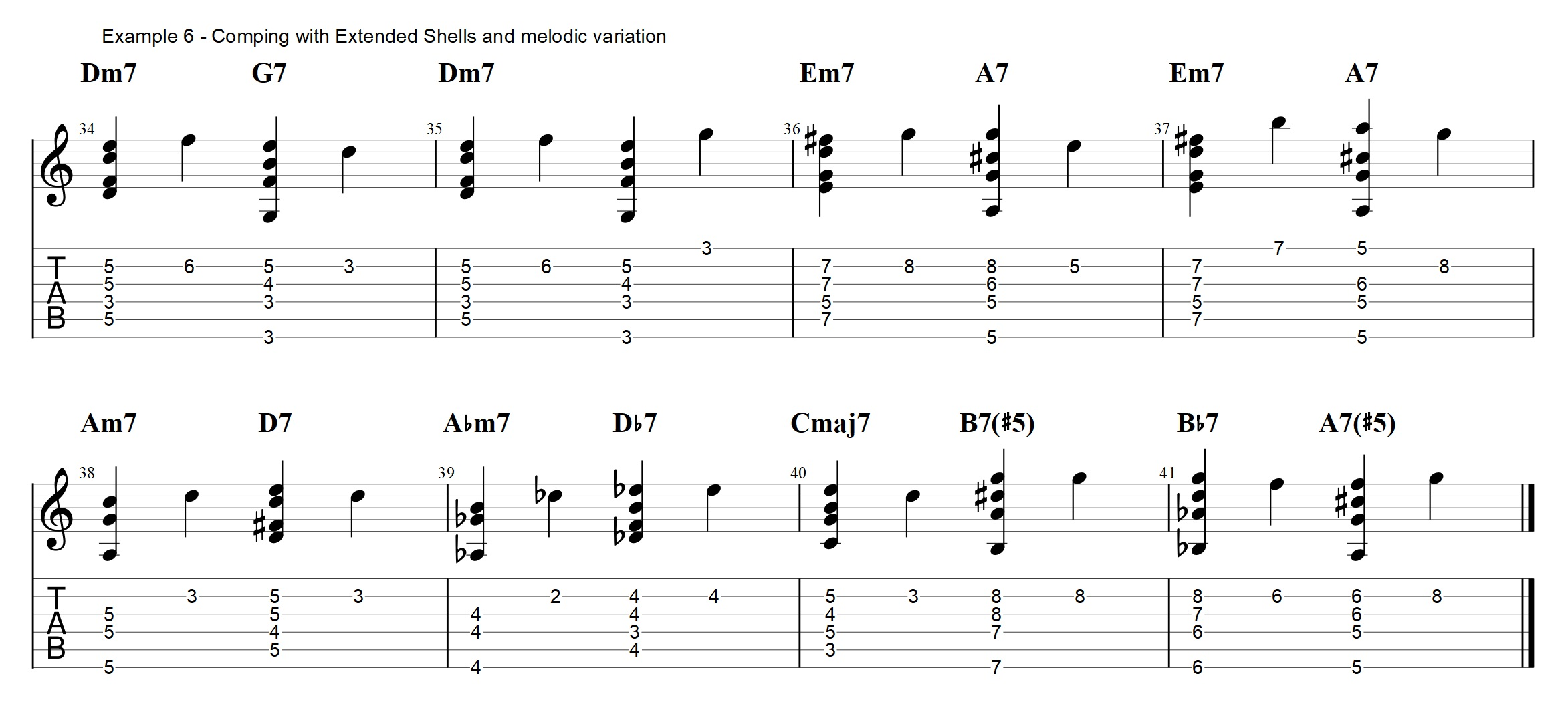 Jazz Guitar Chords Archives Jens Larsen