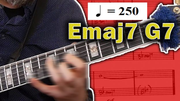 How To Solo Over Fast Moving Chord Changes Jazz Guitar Jens Larsen