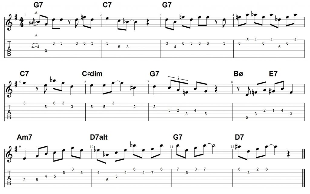 jazz blues guitar lesson Archives - Jens Larsen