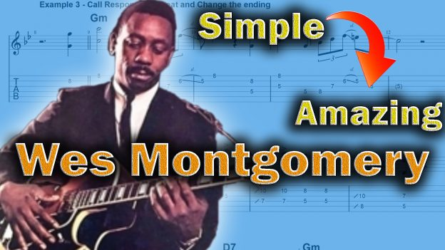 wes montgomery four on six guitar lesson Archives - Jens Larsen