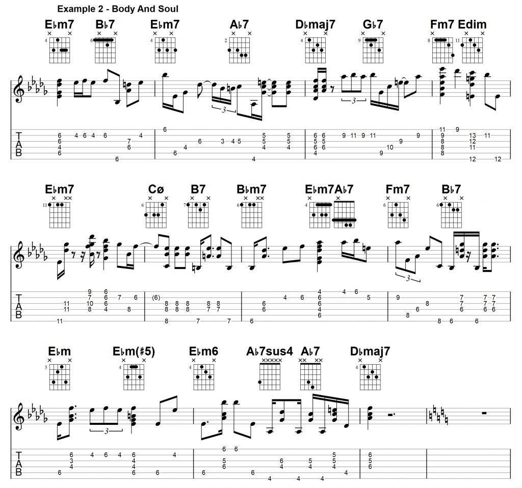 Chord Melody Guitar Lesson Archives - Jens Larsen