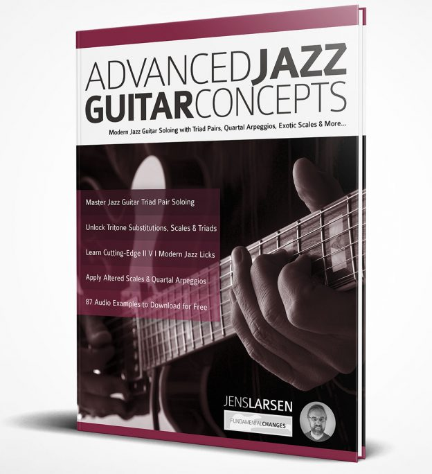 New Book: Advanced Jazz Guitar Concepts! - Jens Larsen
