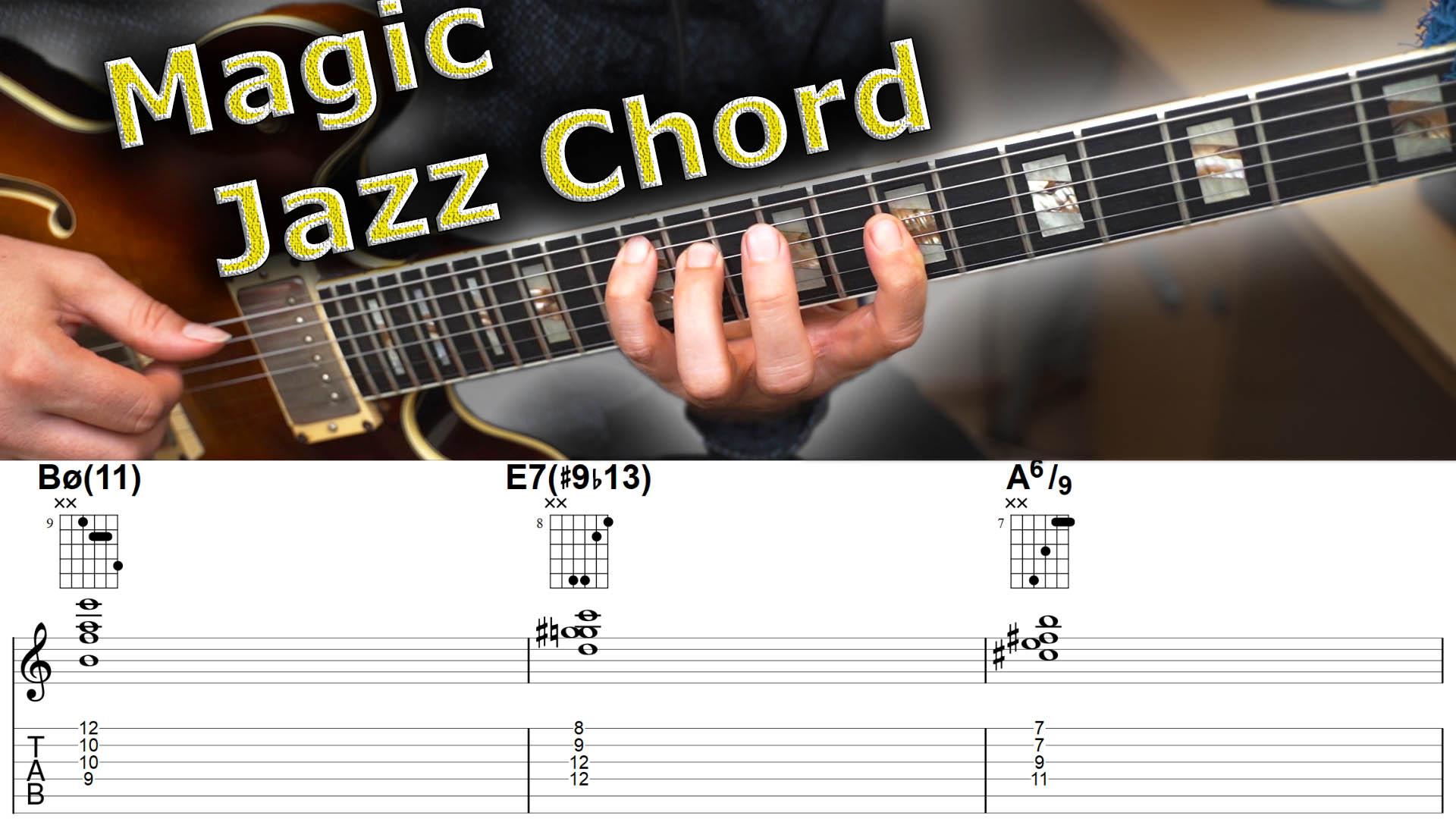 The Magic Chord 10 Ways To Use This Amazing Jazz Chord Jens Larsen